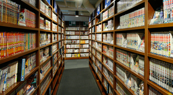 We have about 40,000 comics and more than 100 newest magazines